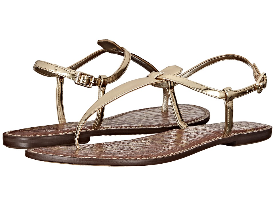 Sam Edelman Gigi (Goldshine Liquid Metallic) Sandals