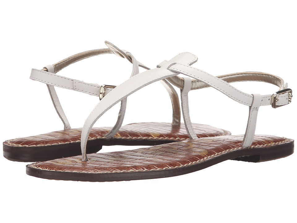Sam Edelman Gigi (Bright White Vaquero Saddle Leather) Sandals
