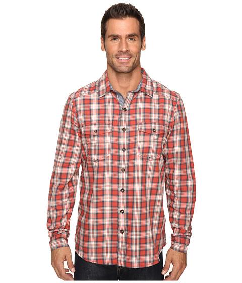 Ecoths Dax Long Sleeve Shirt - Tabasco