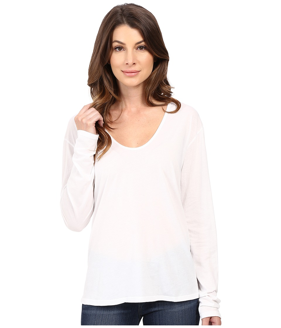 The Beginning Of Butina Long Sleeve Tee White Womens T Shirt
