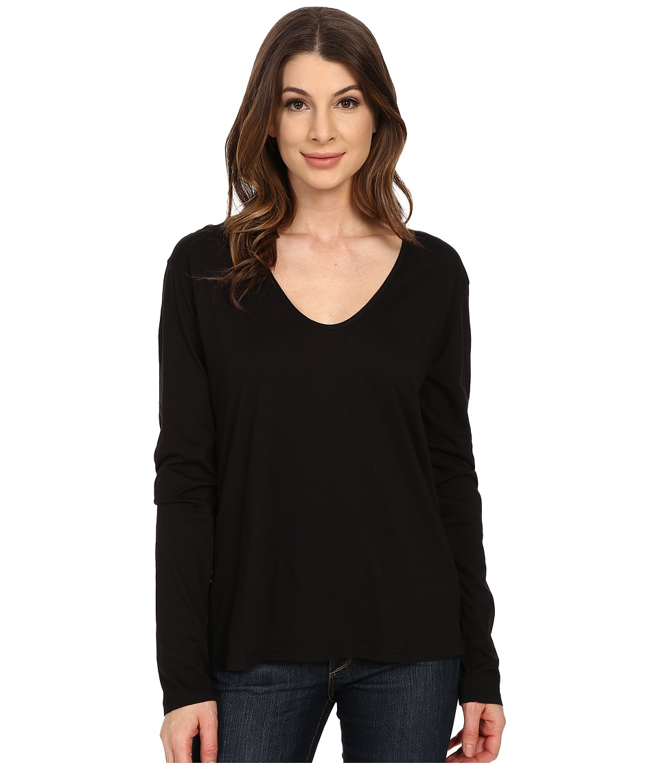 The Beginning Of Butina Long Sleeve Tee Black Womens T Shirt