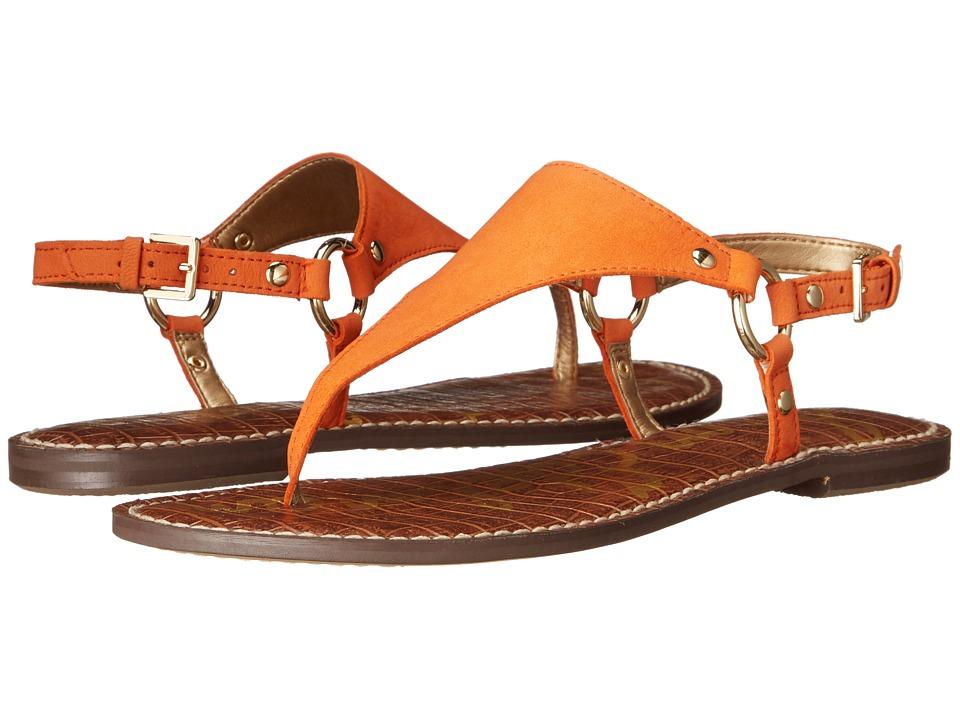 Sam Edelman Greta Tangelo Wayne Nubuck Leather Womens Sandals