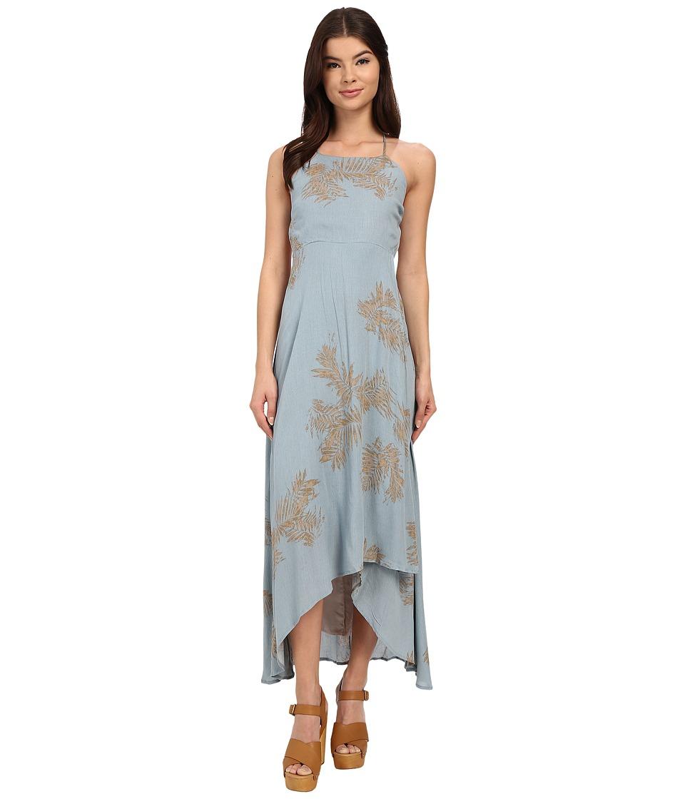 Brigitte Bailey Olivia Printed Dress Teal Womens Dress