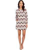 Brigitte Bailey - Valentine Abstract Chevron Dress