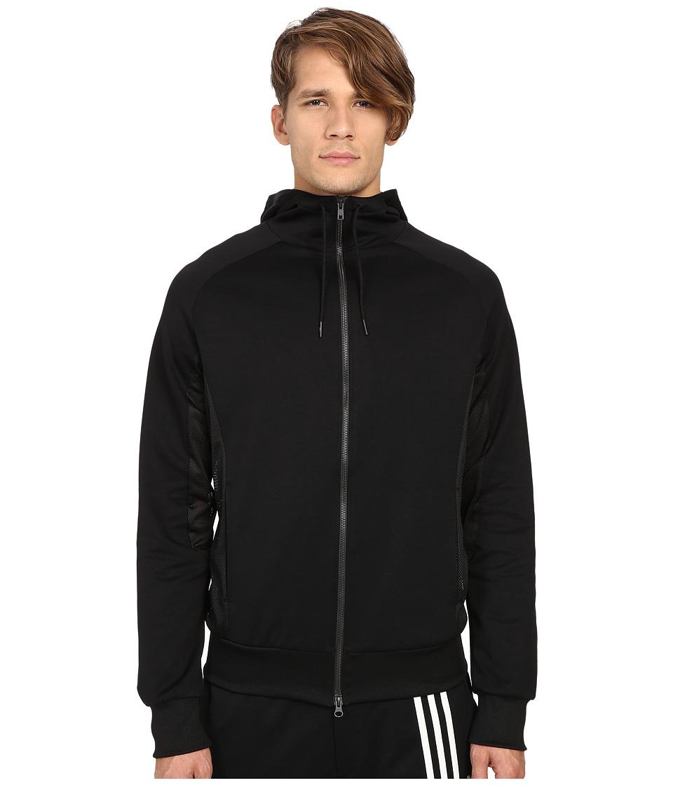 adidas Y 3 by Yohji Yamamoto Fluid Track Jacket Black Mens Coat