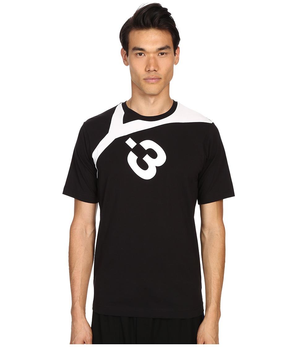 adidas Y-3 by Yohji Yamamoto - Logo T-Shirt (Black) Men