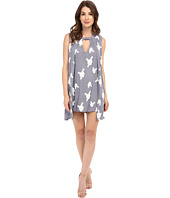 Brigitte Bailey - Layla Key Hole Embroidered Dress