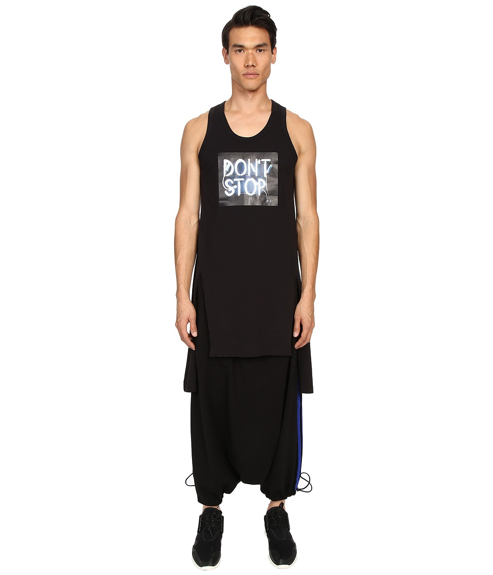 adidas Y 3 by Yohji Yamamoto Dont Stop Tank Top Black Mens Sleeveless