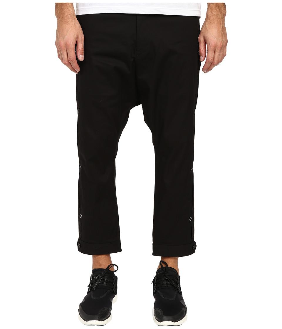 adidas Y 3 by Yohji Yamamoto Bartack Pants Black Mens Casual Pants