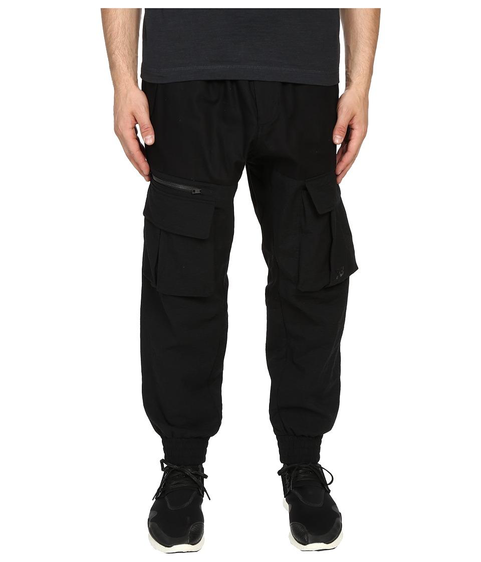 adidas Y 3 by Yohji Yamamoto Airmesh Cargo Black Mens Casual Pants