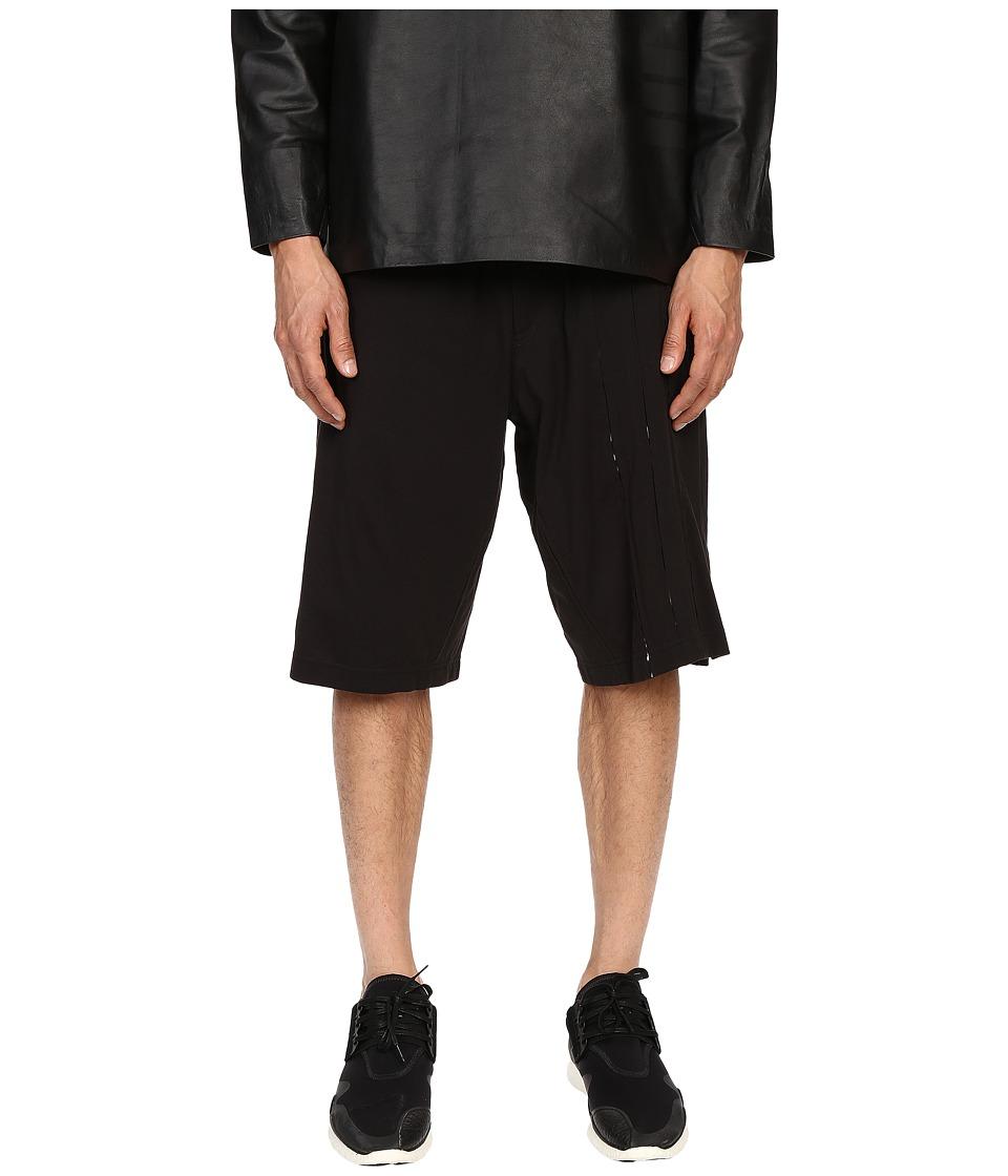 adidas Y 3 by Yohji Yamamoto Flex Shorts Black Mens Shorts