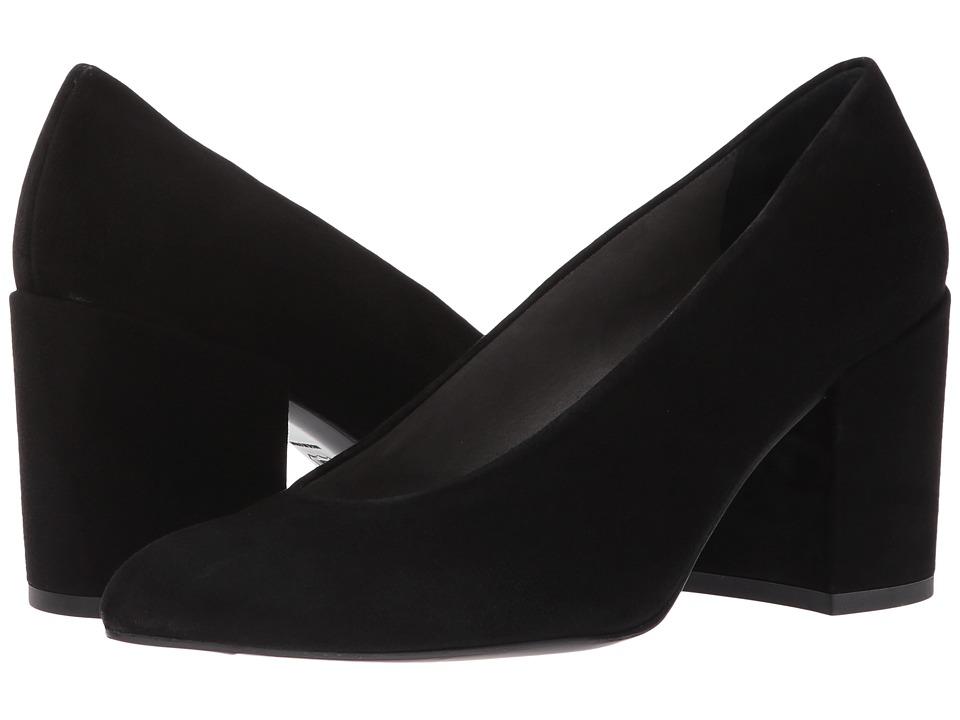 Stuart Weitzman Chokeup (Black Suede) High Heels