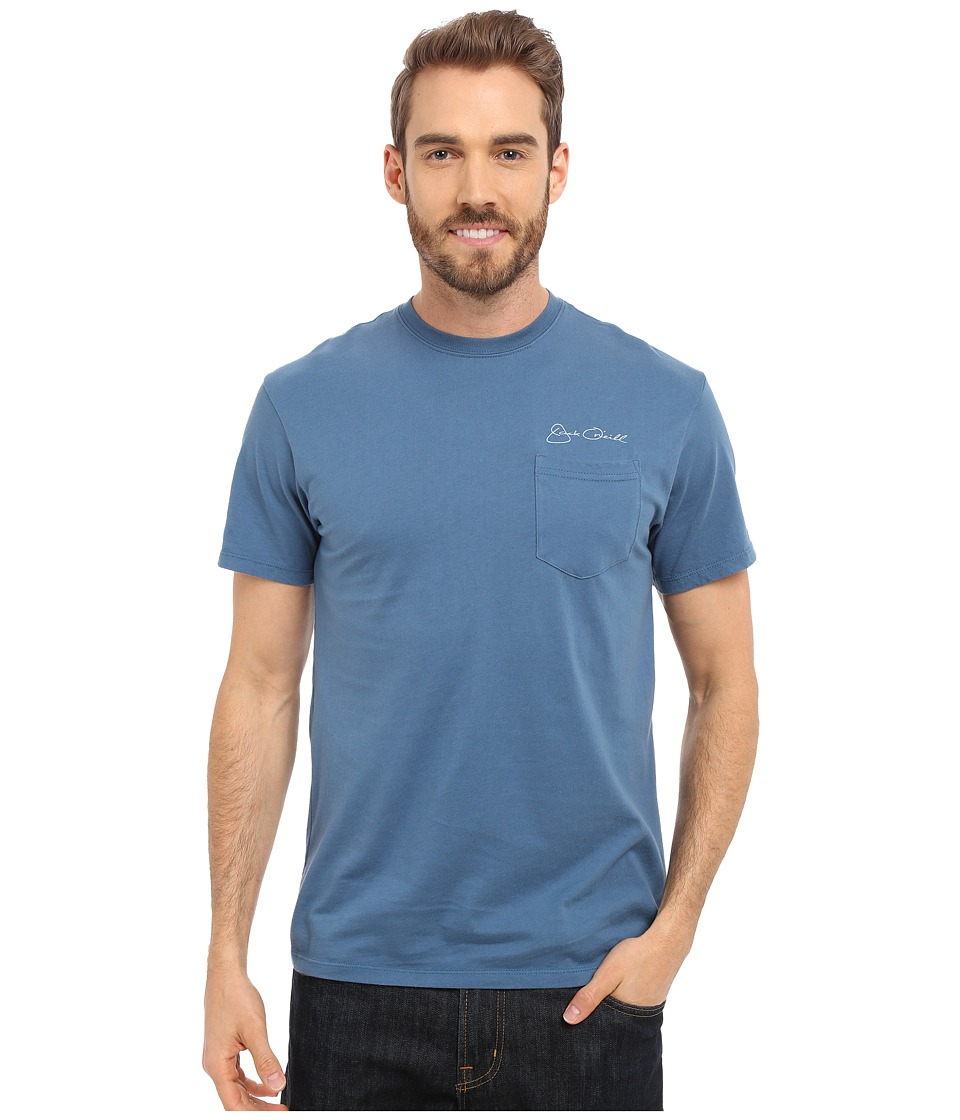 Jack ONeill Albacore Short Sleeve Screen Tee Dutch Blue 1 Mens T Shirt