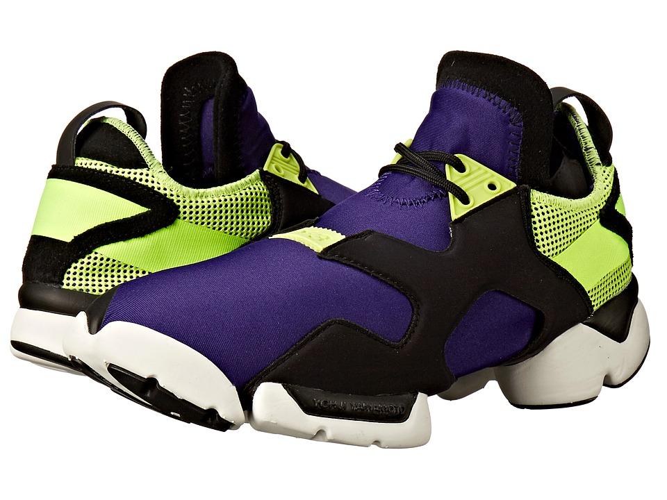 adidas Y 3 by Yohji Yamamoto Kohna Collegiate Purple/Core Black/Solar Yellow Shoes