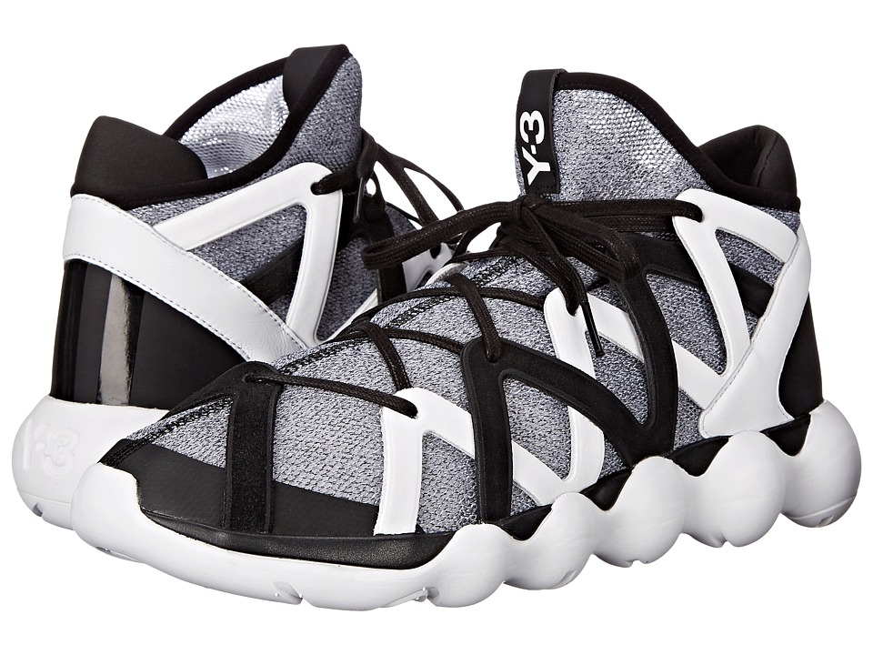 adidas Y 3 by Yohji Yamamoto Kyujo High Core Black/White/Core Black Mens Shoes