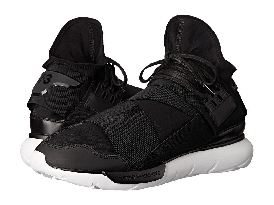 adidas Y 3 by Yohji Yamamoto Qasa High Core Black/Core Black/White Mens Shoes