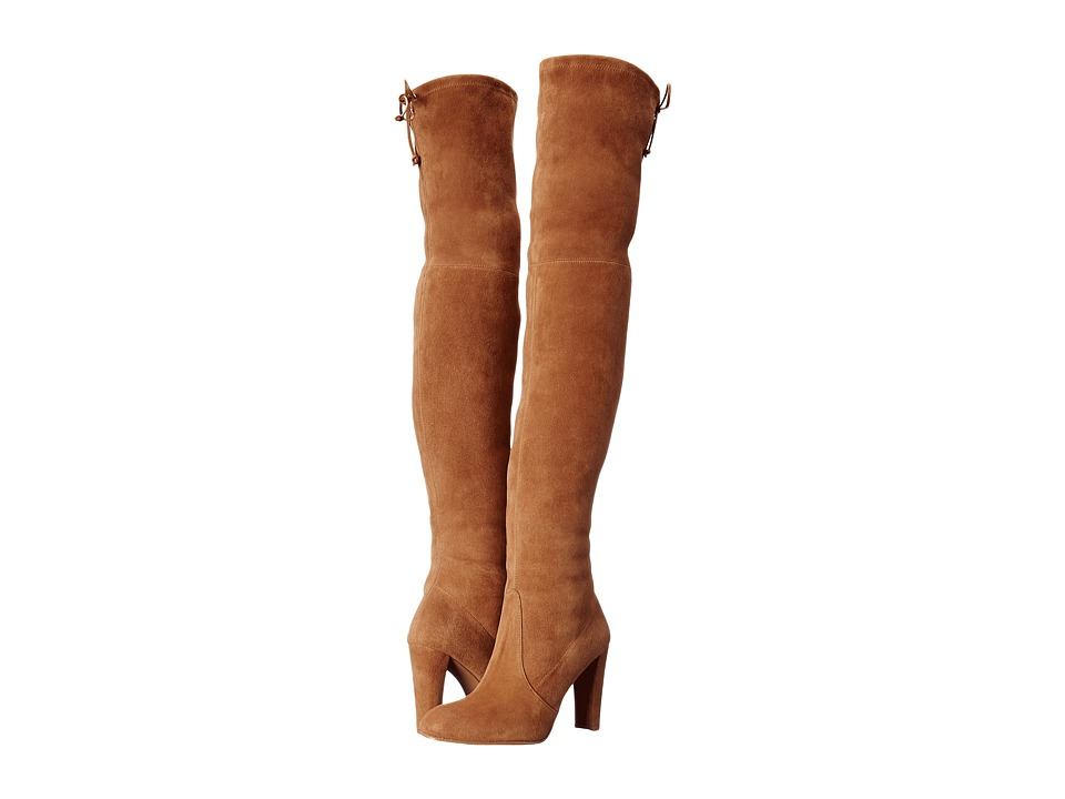 Stuart Weitzman Highland (Toffee Suede) Women's Dress Pull-on Boots