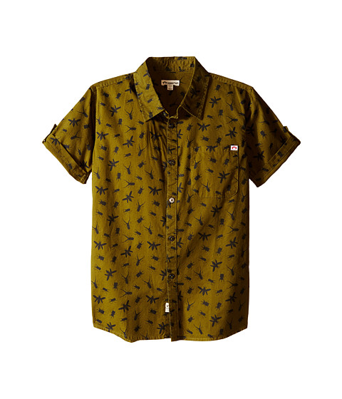 Appaman Kids Vintage Inspired Button Up Shirt with Insect Print (Toddler/Little Kids/Big Kids)