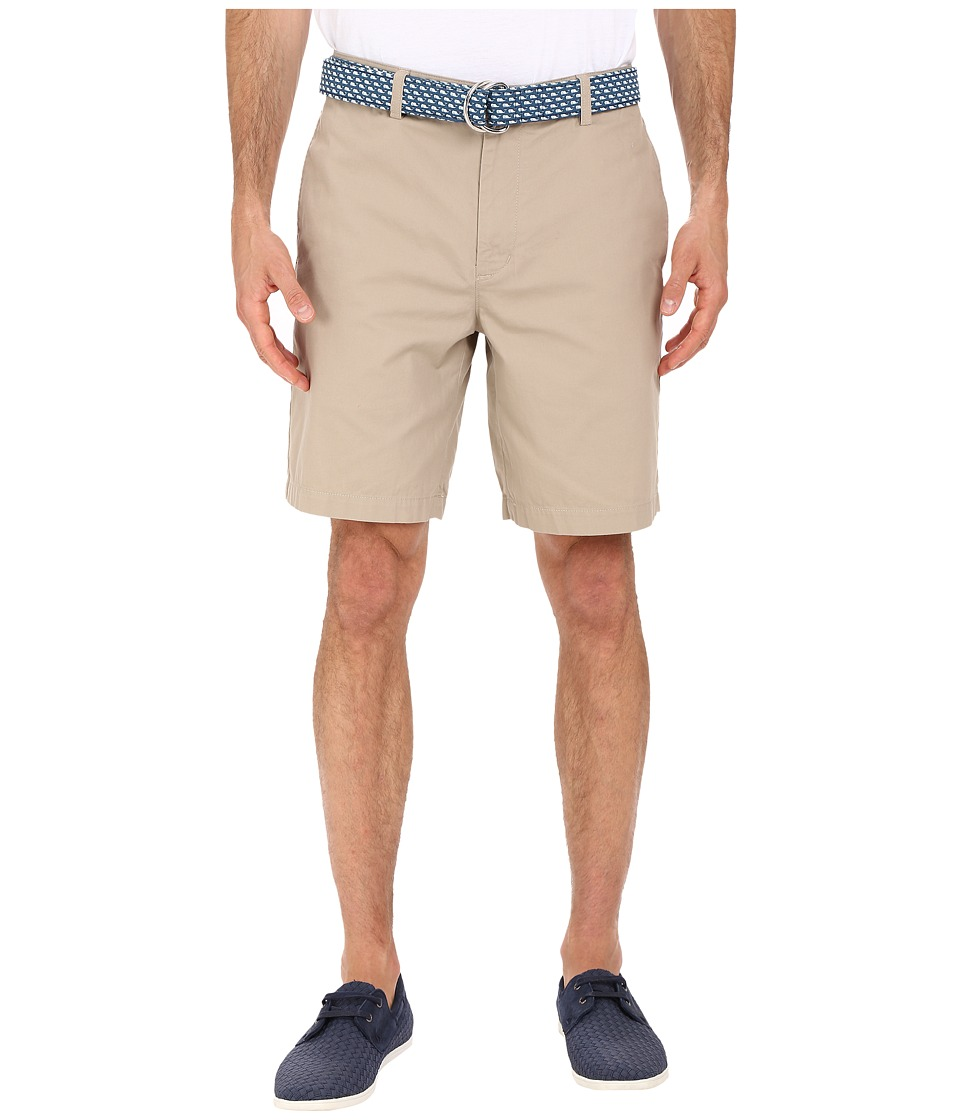Vineyard Vines 9 Classic Summer Club Shorts Khaki Mens Shorts