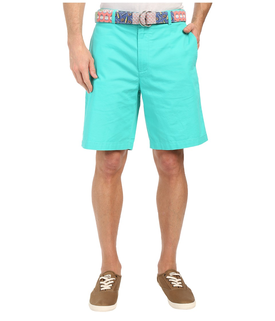 Vineyard Vines 9 Classic Summer Club Shorts Aquinnah Aqua Mens Shorts