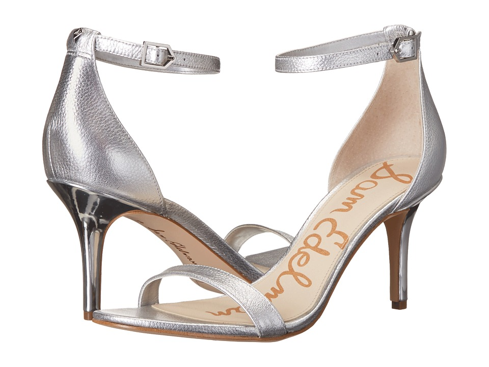 Sam Edelman - Patti (Soft Silver Tumble Opal Metallic Leather) High Heels