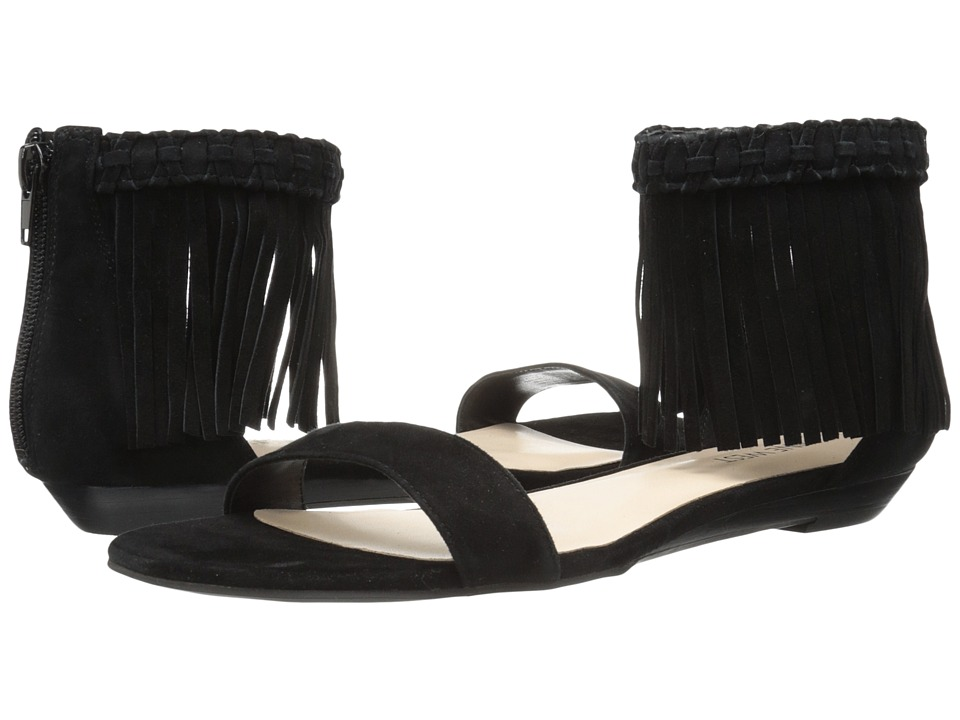 Nine West - Wanderlust (Black Suede) Womens Sandals