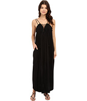 Rachel Zoe - Sybilla Pleated Lace-Up Maxi