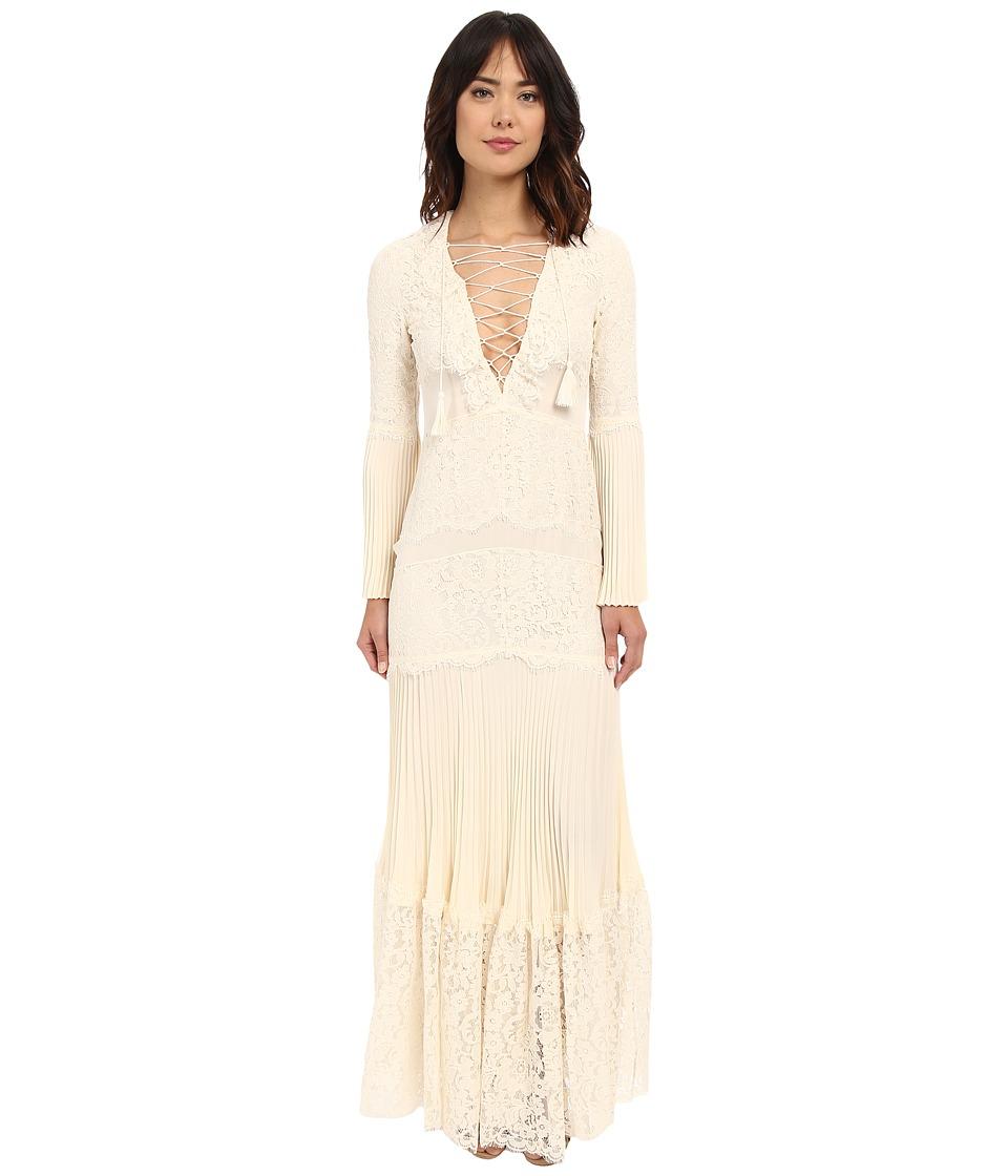 Rachel Zoe Annie Lace Gown Ecru Womens Dress