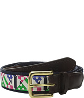 Vineyard Vines - Patchwork Silks Canvas Club Belt