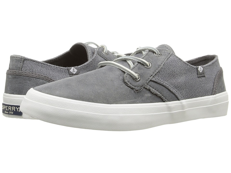 Sperry Top-Sider Crest Rider Leather (Medium Grey) Women