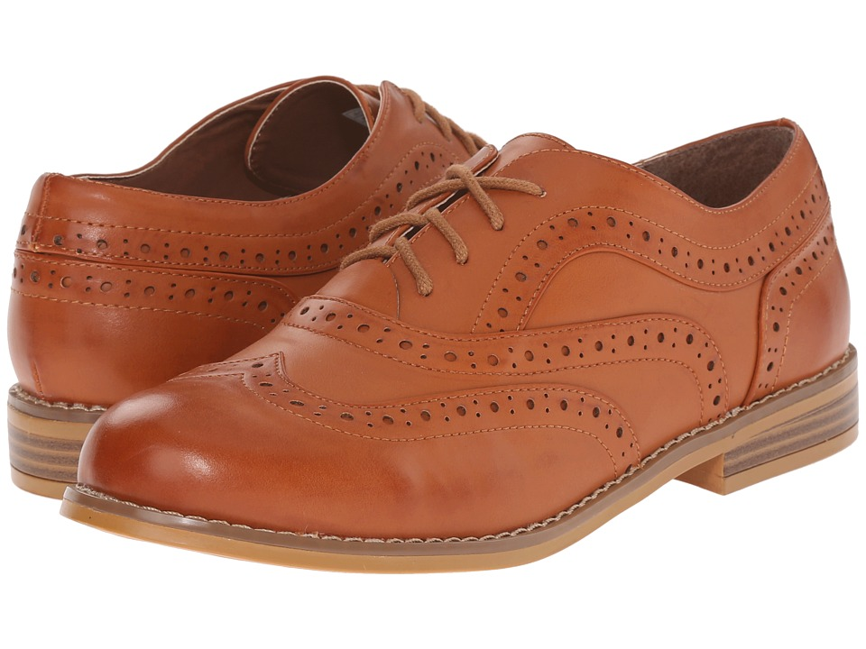 Rocket Dog Milwood Tan Brisk PU Womens Lace up casual Shoes