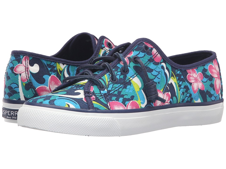 Sperry Top-Sider - Seacoast Floral (Dark Blue) Women