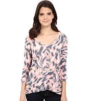 Calvin Klein Jeans - Printed 3/4 Sleeve Slub Tee