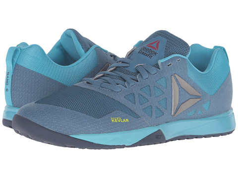 Reebok Crossfit® Nano 6.0 - Slate/Crisp Blue/Lemon Zest/Blue Ink/Pewter