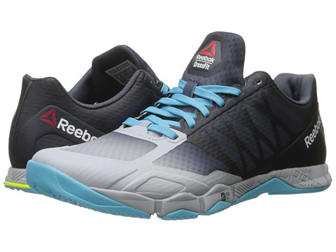 Reebok Crossfit® Speed TR - Cloud Grey/Royal Slate/Crisp Blue/Hero Yellow