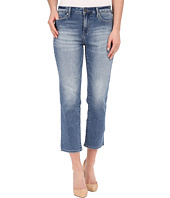 Calvin Klein Jeans - Cropped Straight Jeans in Authentic Blue