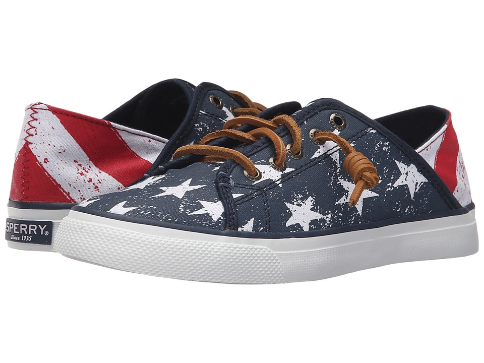 Sperry Top-Sider - Seacoast Isle Stars Stripes (Red/White/Blue) Women