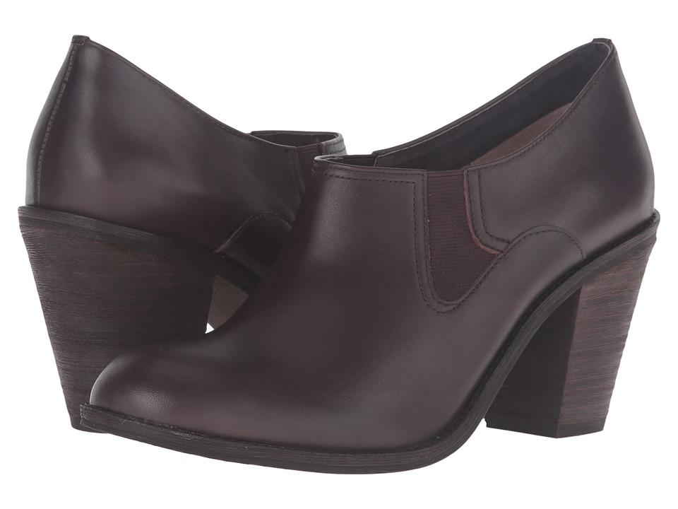 SoftWalk - Fargo (Dark Brown Smooth Leather) High Heels