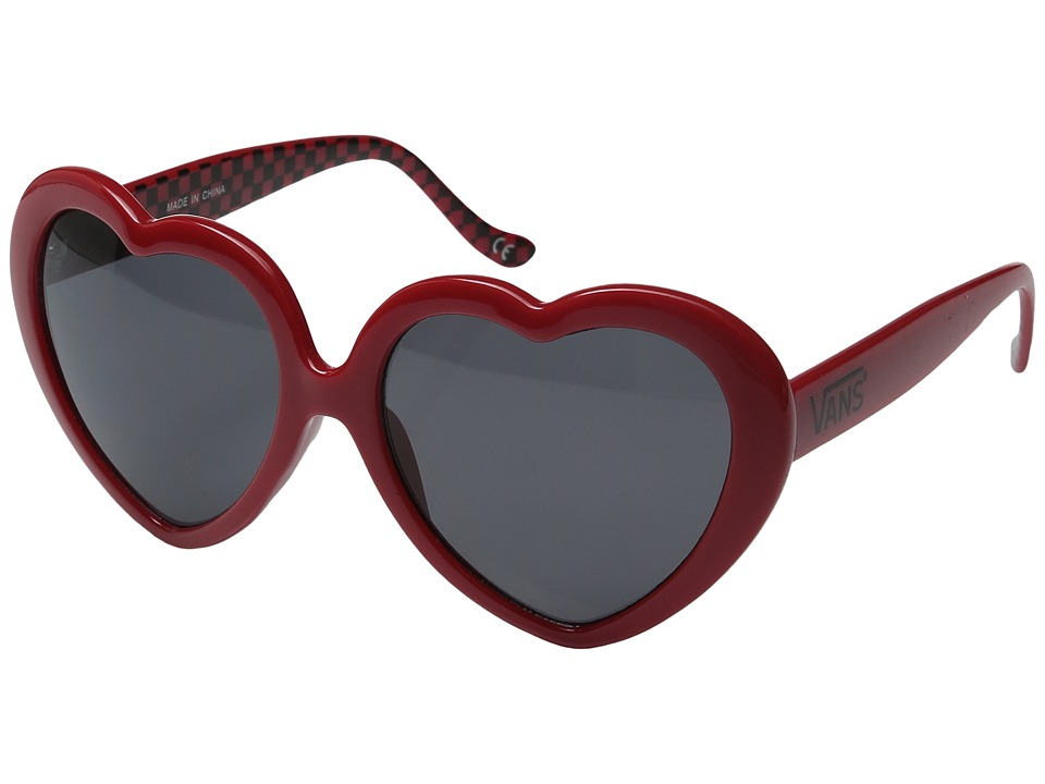 Vans - Heartacher Sunglasses (Chili Pepper) Fashion Sunglasses