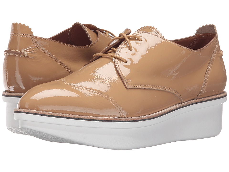 Image of 10 Crosby Derek Lam - Grady (Tan Crinkle Patent) Women's Shoes
