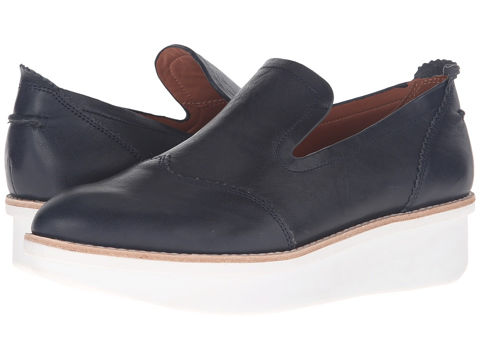 Image of 10 Crosby Derek Lam - Greta (Midnight Tumbled Vacchetta) Women's Shoes