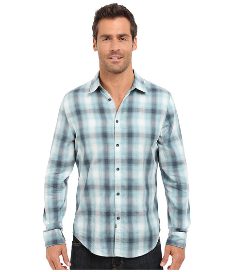 Calvin Klein Jeans Blurred Ombre Check Shirt