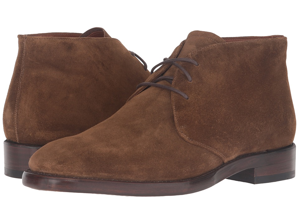 Frye - Weston Chukka (Chestnut Oiled Suede) Mens Slip on  Shoes