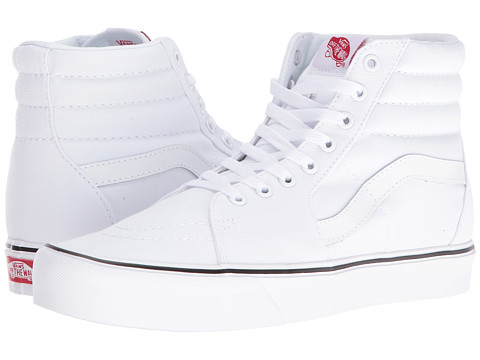 Vans Sk8-Hi Lite - (Canvas) True White