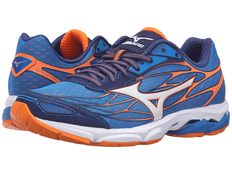 Mizuno Wave Catalyst (Directoire Blue/Clownfish/White) Men