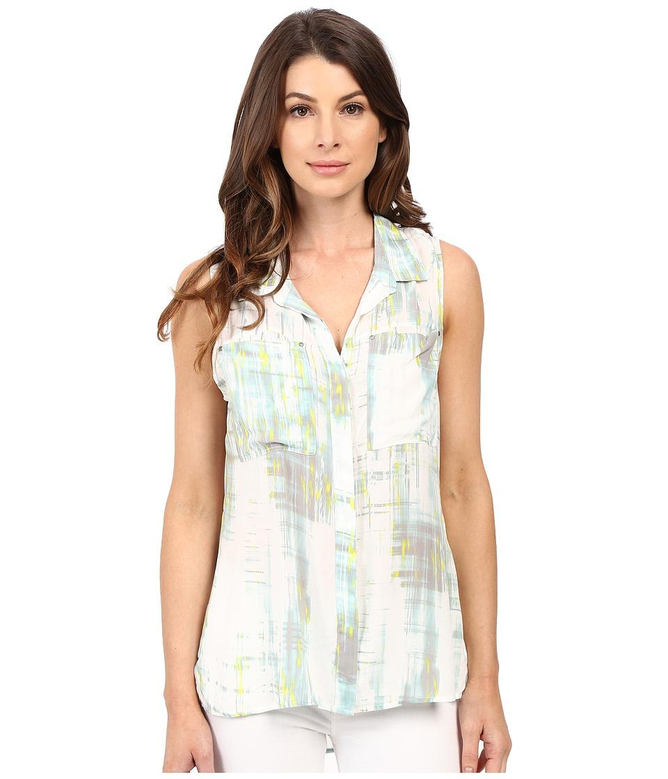Calvin Klein Jeans Sleeveless Utility Shirt Radical Womens Sleeveless