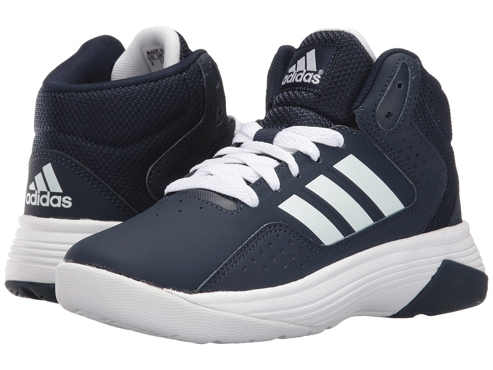 adidas Kids Cloudfoam Ilation (Little Kid/Big Kid) (Collegiate Navy/White/White) Boys Shoes