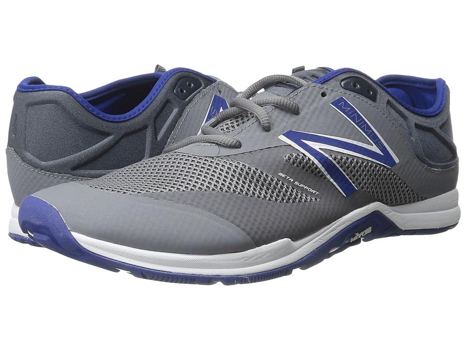 New Balance - MX20v5 (Gray/Blue) Men