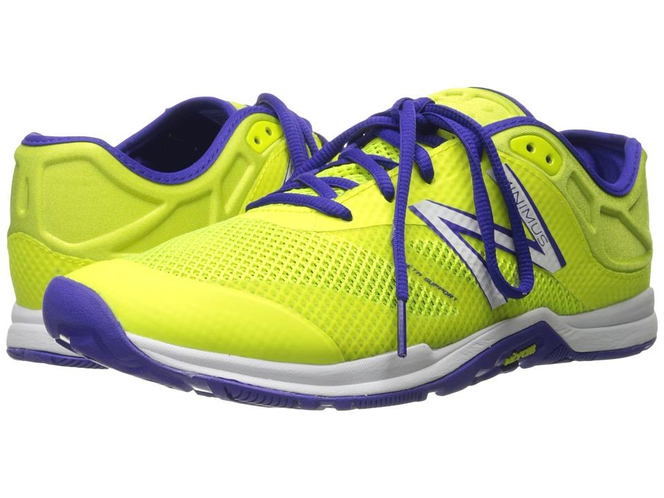 New Balance - WX20v5 (Yellow/Purple) Womens Cross Training Shoes