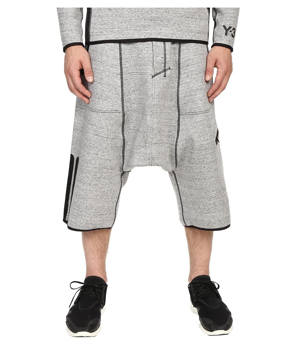 adidas Y 3 by Yohji Yamamoto Digital Shorts CC Grey Mens Shorts